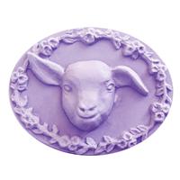 Kid Goat Face Soap Mold (MW 319)
