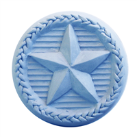Braided Star Round Soap Mold (MW 301)