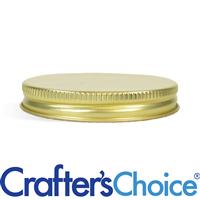 70/400 Gold Metal Basic Top Cap - Foam Liner