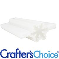 Snowflake Column Silicone Soap Mold 2031
