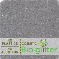 Bio-Glitter (Aluminum Free) - .008 Hex, Silver