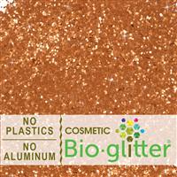 Bio-Glitter (Aluminum Free) - .040 Hex, Bronze
