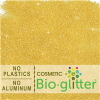 Bio-Glitter (Aluminum Free) - .015 Hex, Gold