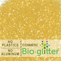 Bio-Glitter (Aluminum Free) - .040 Hex, Gold