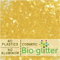 Bio-Glitter (Aluminum Free) - .094 Hex, Gold