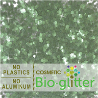 Bio-Glitter (Aluminum Free) - .094 Hex, Green