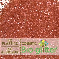 Bio-Glitter (Aluminum Free) - .040 Hex, Red