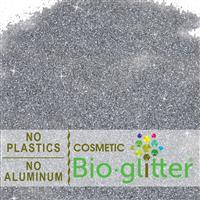 Bio-Glitter (Aluminum Free) - .015 Hex, Silver