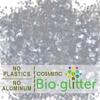 Bio-Glitter (Aluminum Free) - .094 Hex, Silver