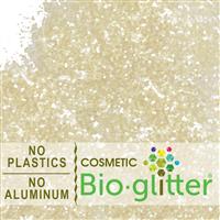 Bio-Glitter (Aluminum Free) - .040 Hex, Ivory