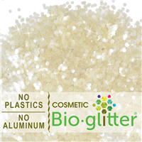 Bio-Glitter (Aluminum Free) - .094 Hex, Ivory