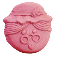 Mrs Claus Face Soap Mold (MW 306)