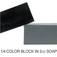 Activated Charcoal Soap Color Blocks