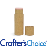 0.5 oz Kraft Paperboard Tube & Cap Set - Push Up