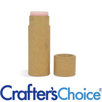 01 oz Kraft Paperboard Tube & Cap Set - Push Up