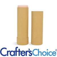 02 oz Kraft Paperboard Tube & Cap Set - Push Up
