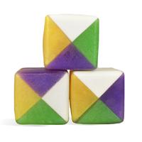 Mardi Gras Cube MP Soap Bars