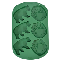 Bear and Paw Silicone Mold