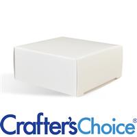 Soap Box - Square with No Window (WHITE COLOR)