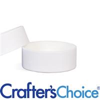 0.5 oz White Paperboard Jar & Lid Set