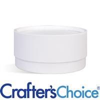 03 oz White Paperboard Jar & Lid Set