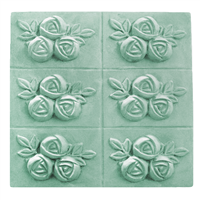 Rose Cluster Soap Mold Tray (MW 239)
