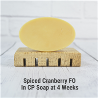 Spiced Cranberry FO in CP Soap