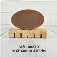 Cafe Latte FO in CP Soap