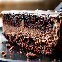 Chocolate Devils Food Cake FO 189