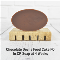 Chocolate Devils Food Cake FO in CP Soap