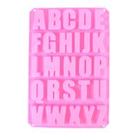 Alphabet Silicone Mold
