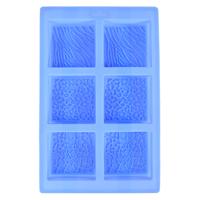 Animal Prints Square Silicone Mold