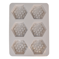 Honeycomb With Bee Silicone Mold