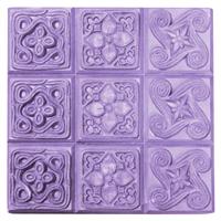 Brocades Soap Mold Tray (MW 18)