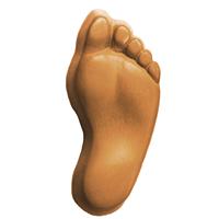 Foot Soap Mold (MW 208)