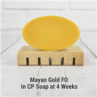 Mayan Gold FO in CP Soap