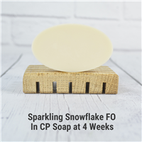 Sparkling Snowflake FO in CP Soap