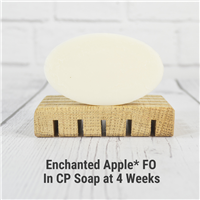 Enchanted Apple FO in Cold Process Soap