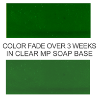 Stained Glass Forest Green Soap Color Blocks