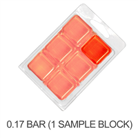 Stained Glass Citrus Orange Soap Color Blocks