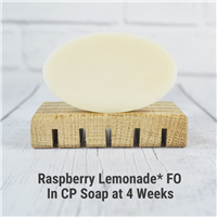 Raspberry Lemonade* FO in CP Soap