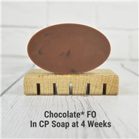 Chocolate* FO in CP Soap