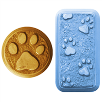 Paw Prints Soap Mold (MW 14)