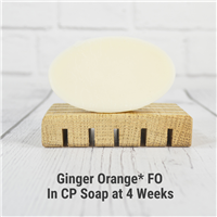 Ginger Orange FO in Cold Process Soap