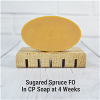 Sugared Spruce FO in CP Soap