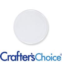 70 mm Clear Disc Jar Liner (Flat)