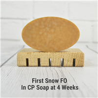 First Snow FO in CP Soap