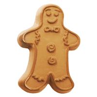 Gingerbread Man 1 Soap Mold (MW 13)