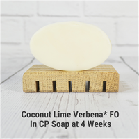 Coconut Lime Verbena* Fragrance Oil in CP Soap