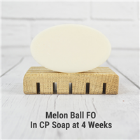 Melon Ball FO in CP Soap
